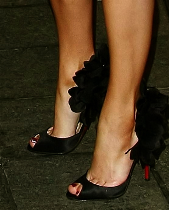 The Peep Toe Shoe.